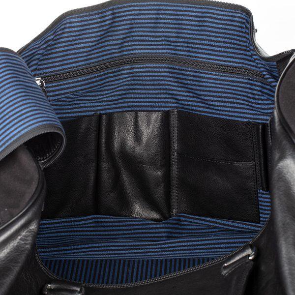 inside pockets for asali travel bag organise your bag