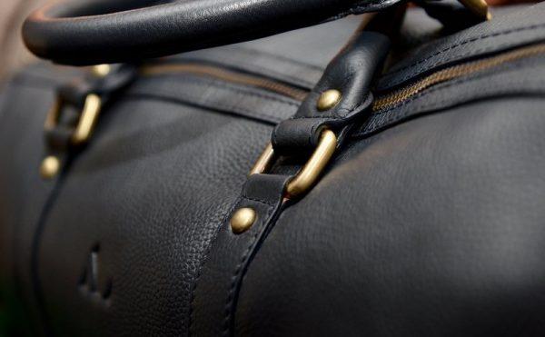 navy weekend bag asali ladies weekender soft supple leather