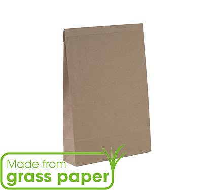 grass paper mailing bag