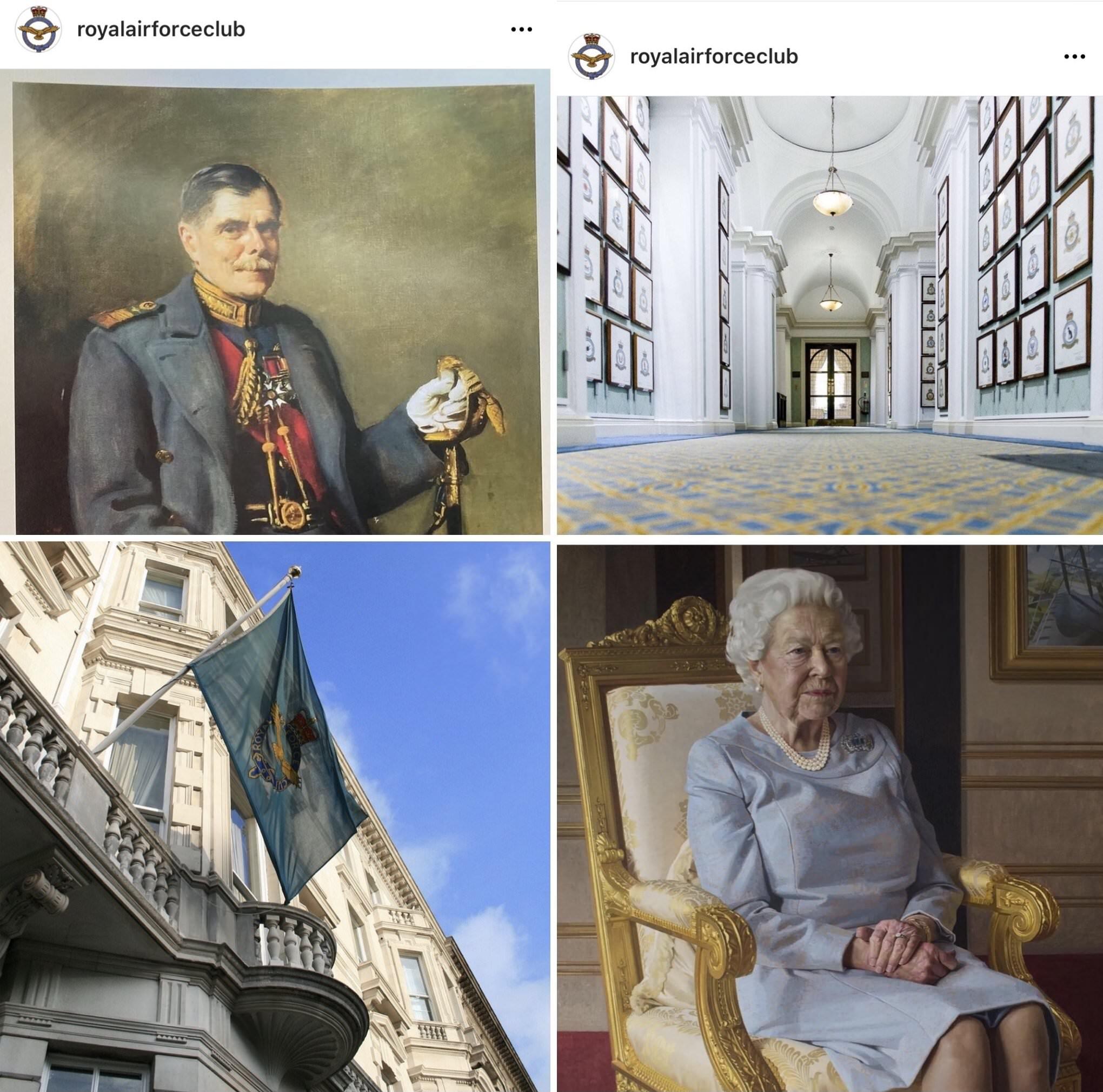 raf club instagram images