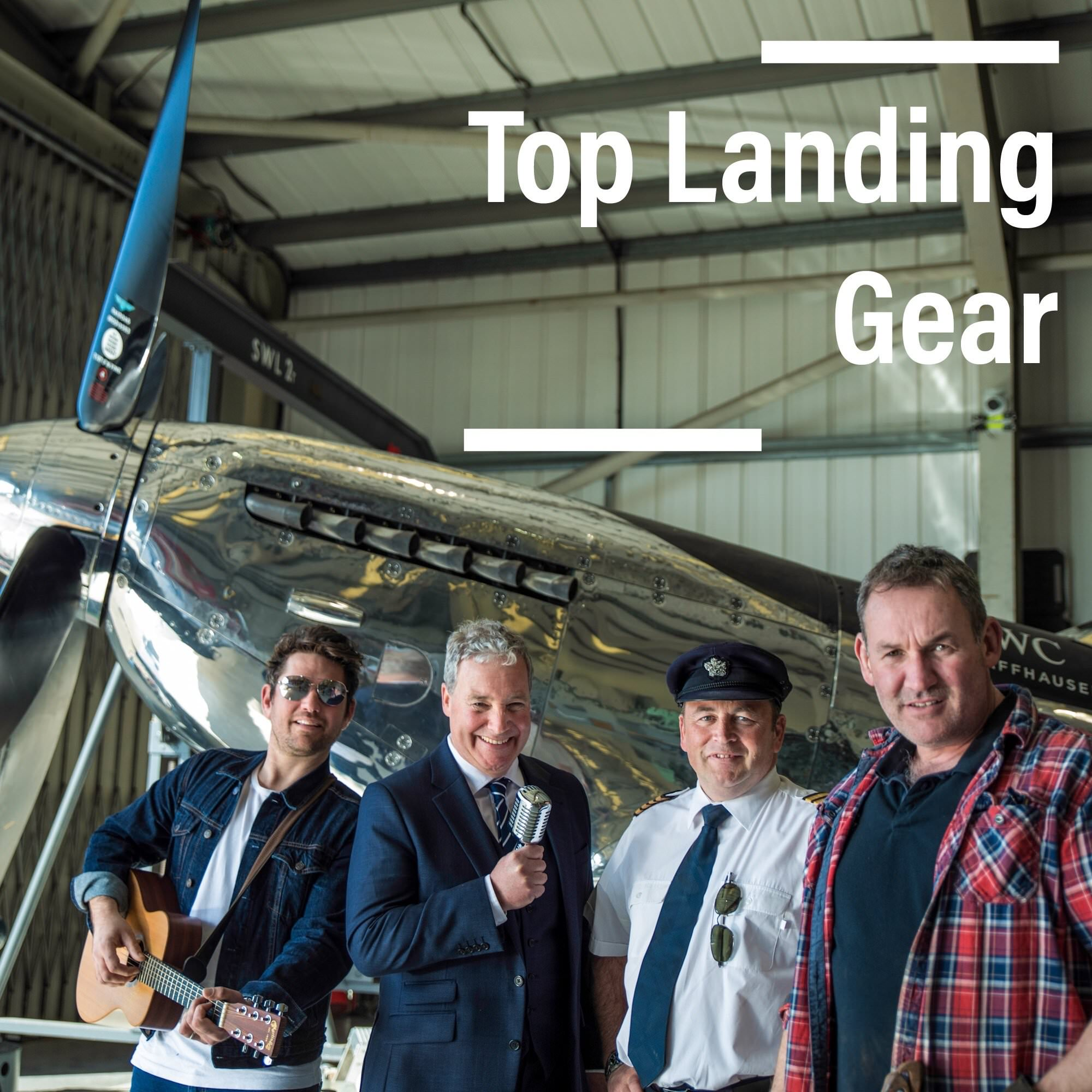 james cartner and scouting for girls, rob curling top landing gear