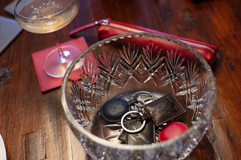 visit lincoln key ring set