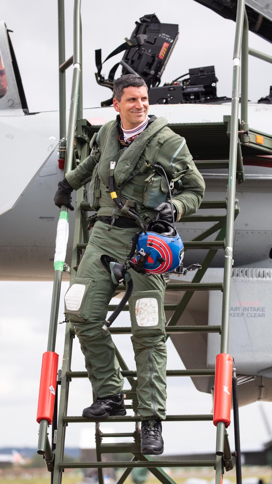 From ATC to MBE – Congratulations Flt Lt Jim P