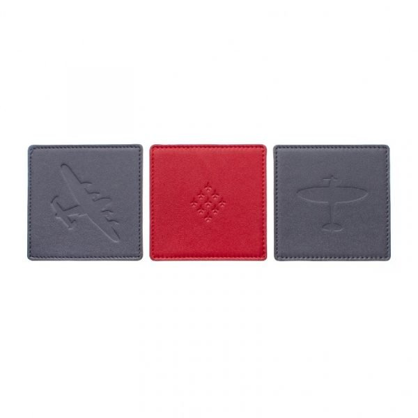 aviation coasters personalised red arrows spitfire lancaster