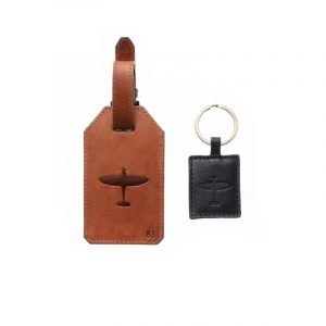 Spitfire Luggage Tag