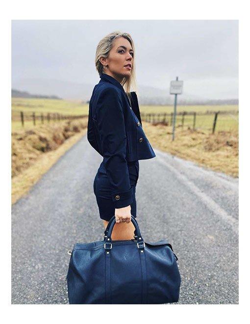 danni menzies travel weekend bag asali designs