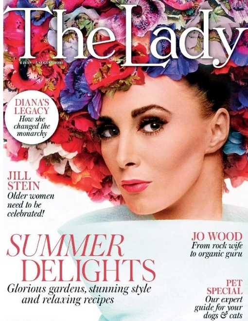 the lady magazing cover asali features